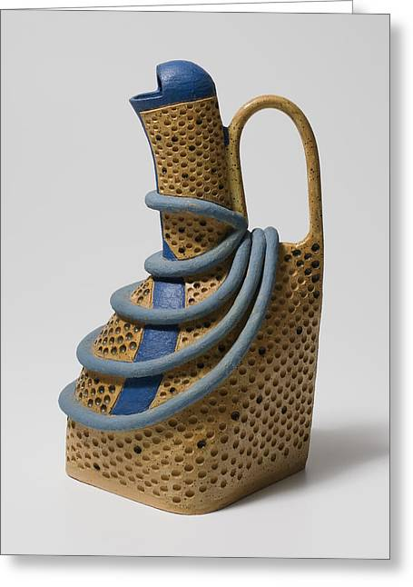 Pitcher Ceramics Greeting Cards - Eve Greeting Card by Jason Galles