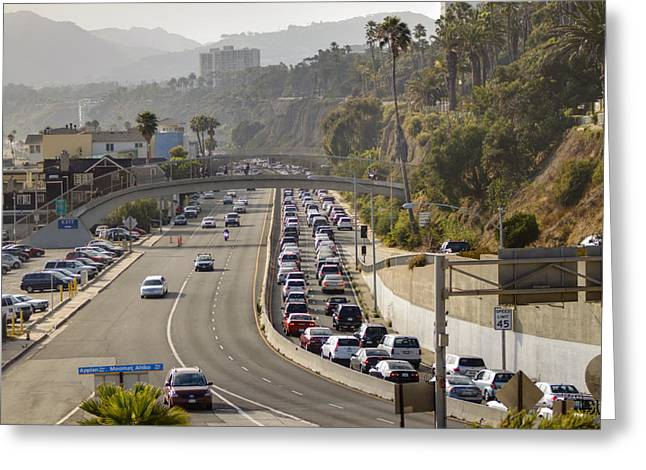 Pch Greeting Cards - Evening Commute Greeting Card by Ricky Barnard