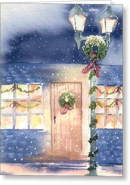Cape Greeting Cards - Evening Flurry Greeting Card by Joseph Gallant