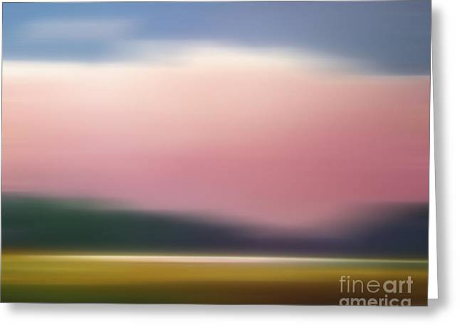 Evening Digital Greeting Cards - Evening Imagination Greeting Card by Lutz Baar