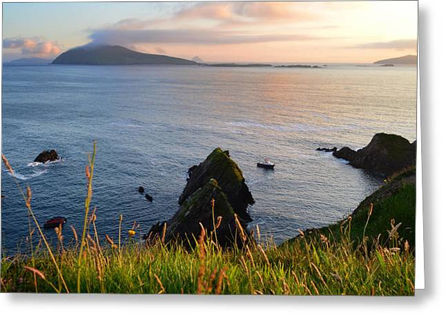 Evening In Kerry Greeting Card by Barbara Walsh