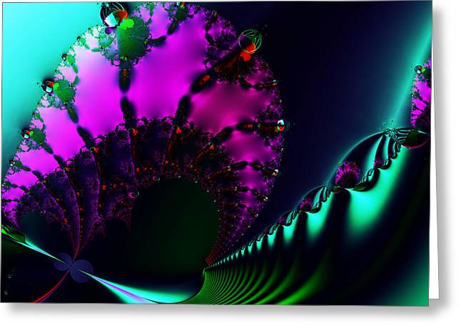Event Horizon . S17 Greeting Card by Wingsdomain Art and Photography