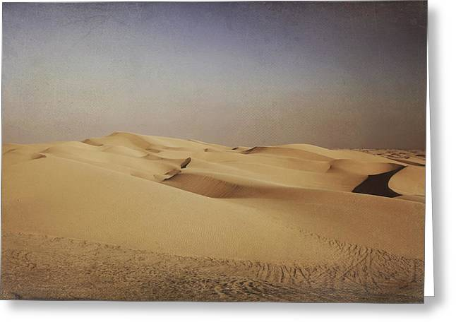 Desert Greeting Cards - Ever Changing Greeting Card by Laurie Search