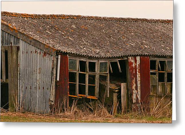 Sheds Greeting Cards - Every mans dream Greeting Card by Camera Rustica Bill Kerr