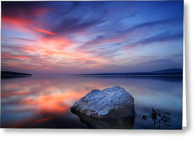 Stones Photographs Greeting Cards - Every Stone Has a Place Greeting Card by Evgeni Dinev