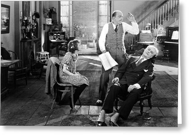 Spats Greeting Cards - Everybodys Acting, 1926 Greeting Card by Granger
