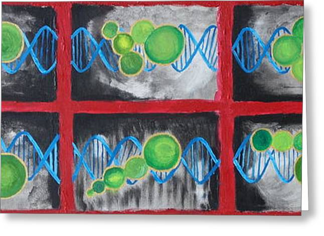 Abstract Expression Greeting Cards - Evolution as Art Greeting Card by Evolve And Express
