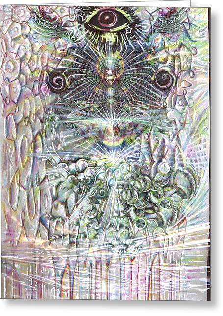 Best Sellers -  - Incarnation Greeting Cards - Exchange Greeting Card by Jeremy Robinson