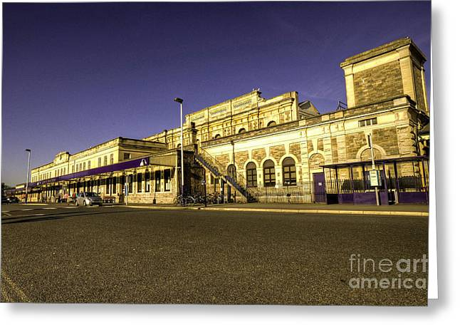 Exeter Greeting Cards - Exeter St Davids Greeting Card by Rob Hawkins