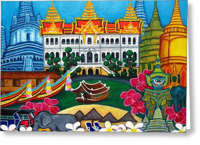 Exotic Bangkok Greeting Card by Lisa  Lorenz