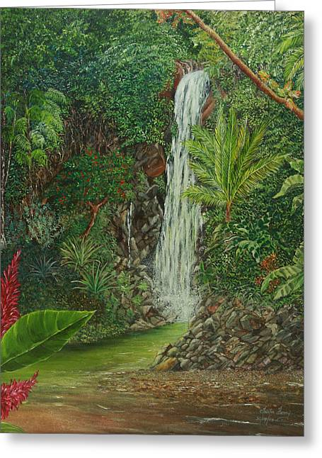 Trister Hosang Greeting Cards - Exotic Daydream Greeting Card by Trister Hosang