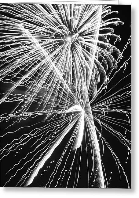 Libertarian Party Greeting Cards - Explosions for Sovereignty and Liberty Greeting Card by Carolina Liechtenstein