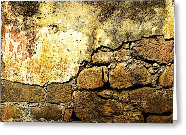 Exposed Bricks Greeting Card by Olden Mexico