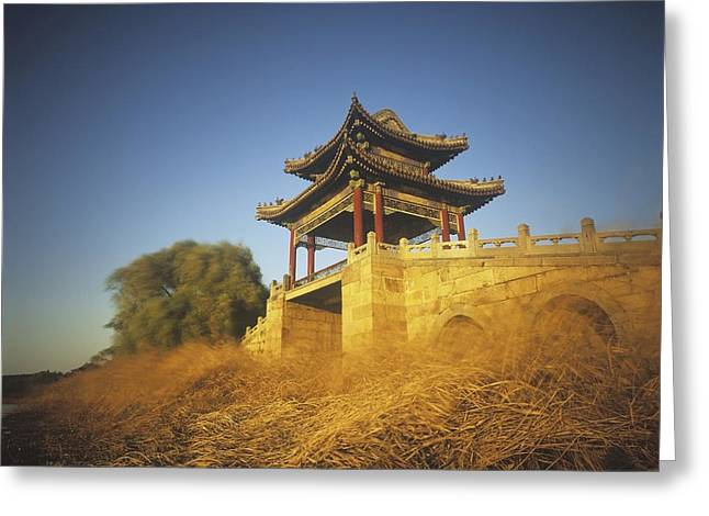 Summer Palace Greeting Cards - Exterior Of Summer Palace Greeting Card by Axiom Photographic