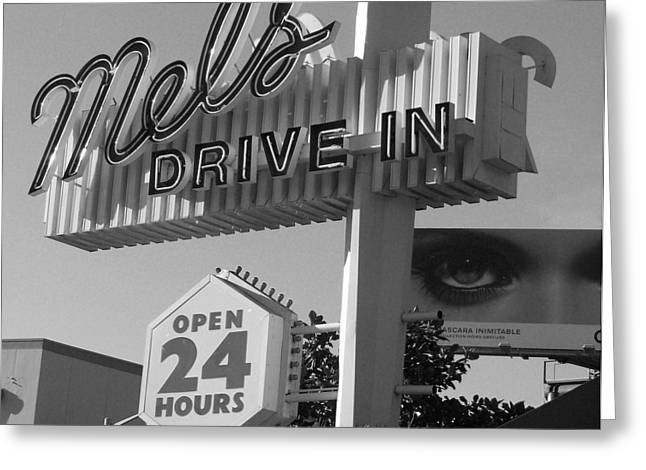 Mels Drive In Greeting Cards - eye love Mels Greeting Card by WaLdEmAr BoRrErO