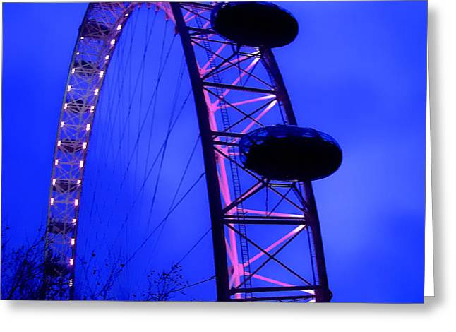 Eye of London Greeting Card by Roberto Alamino