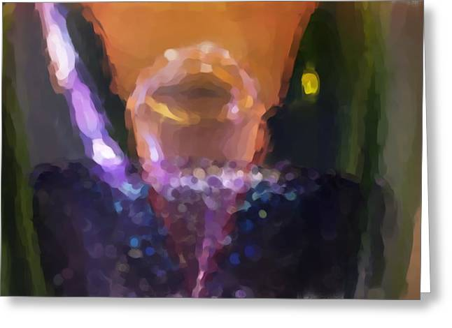 Emanates From Within Greeting Cards - Eye of the Be Holder Greeting Card by Don  Wright