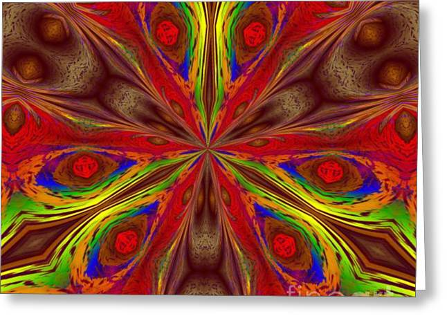Dream Scape Digital Art Greeting Cards - Eyes Greeting Card by Mark Lopez