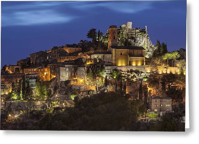 Eze France Greeting Card by Al Hurley