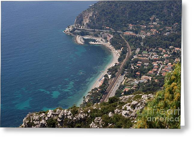 Provence Village Greeting Cards - Eze on High Greeting Card by Andrea Simon