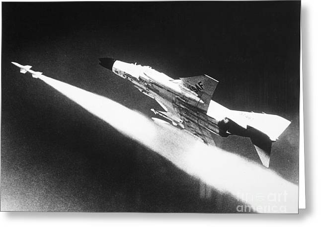 Douglass Greeting Cards - F-4 Phantom Fighter Jet Greeting Card by Granger