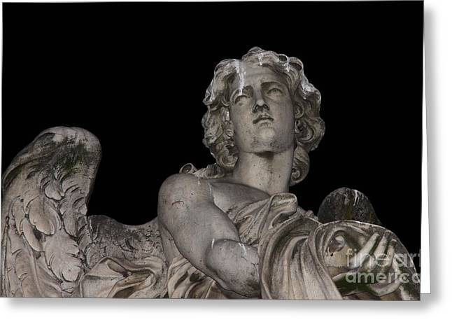 Chris Hill Greeting Cards - Face of an Angel Greeting Card by Chris Hill
