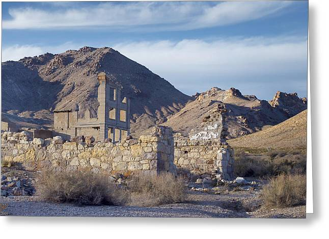 Best Sellers -  - Mining Photos Greeting Cards - Fading Greeting Card by Kenneth Hadlock