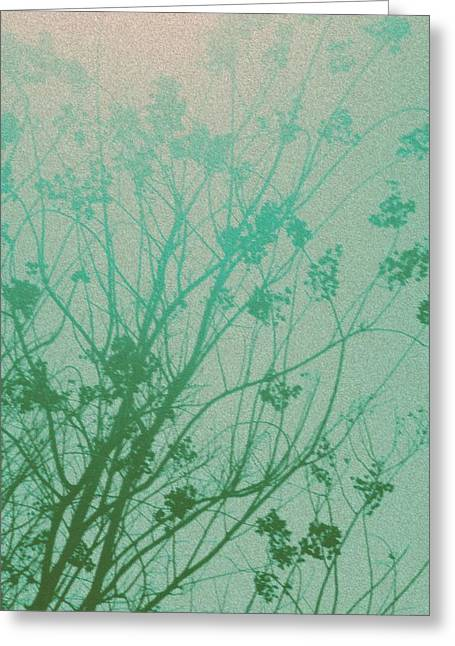 Photocopy Greeting Cards - Fading Light Greeting Card by Bethany Fulford