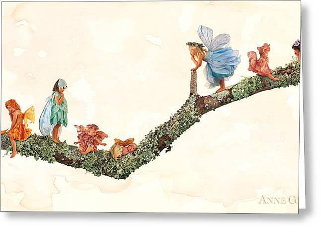 Downs Greeting Cards - Fairies Greeting Card by Anne Geddes