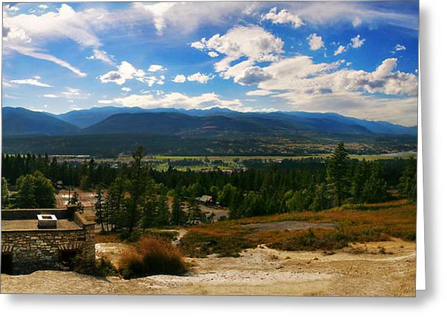 Fairmont Hot Springs Bc Greeting Card by JM Photography