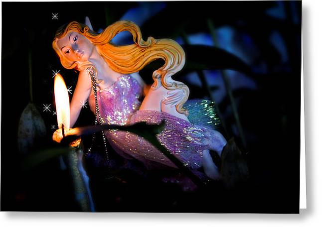 Rustenburg Greeting Cards - Fairy Dreams Greeting Card by Ronel Broderick