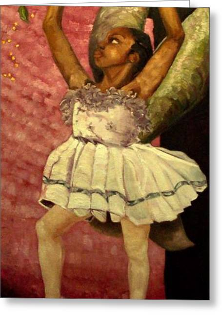 Faries Greeting Cards - Fairy Dust Greeting Card by Amira Najah Whitfield