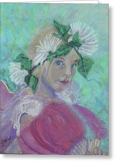 Fairies Pastels Greeting Cards - Fairy Dust Greeting Card by Gina Ward