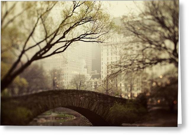 Nyc Greeting Cards - Fairy of New York Greeting Card by Irene Suchocki