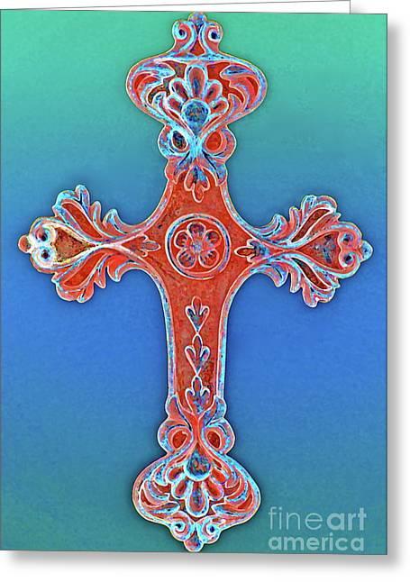 Amen Greeting Cards - Faith Greeting Card by Gwyn Newcombe