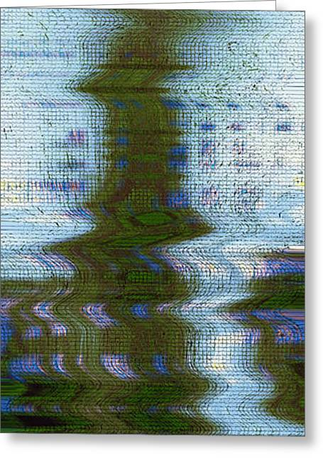 China Beach Greeting Cards - Faiths Vessel Greeting Card by James David Mancini