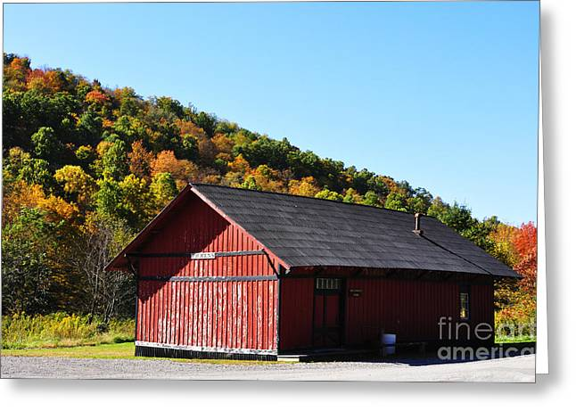 Fall Color Pickens West Virginia Greeting Card by Thomas R Fletcher