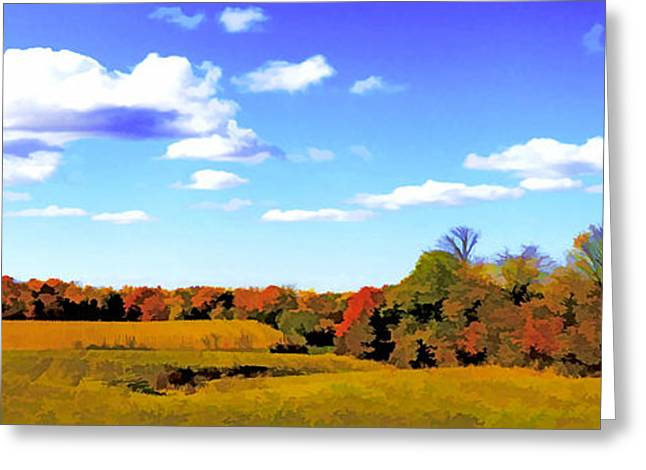 Fall Greeting Card by Photography Art