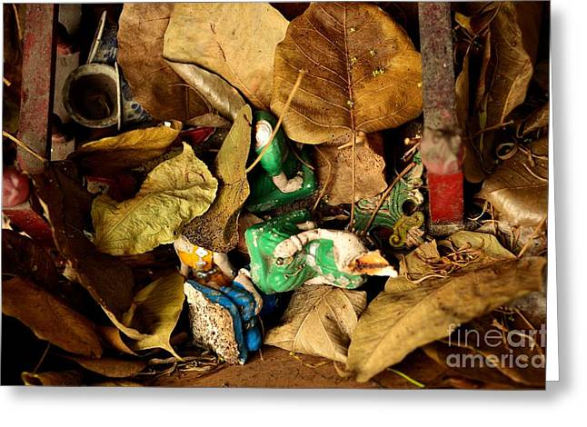 Abandonment Greeting Cards - Fall From Grace Greeting Card by Dean Harte