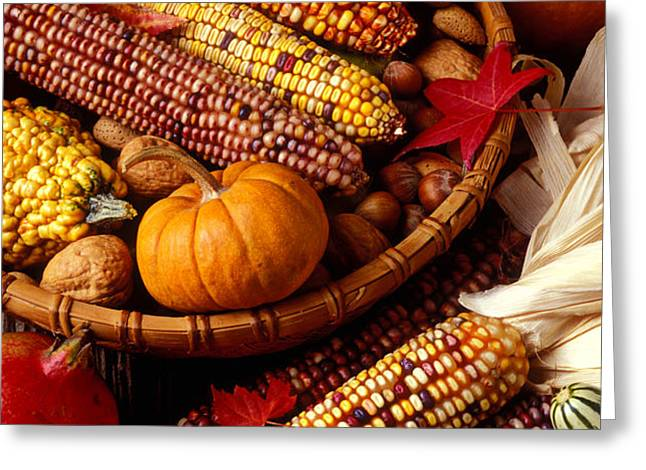 Fall harvest Greeting Card by Garry Gay