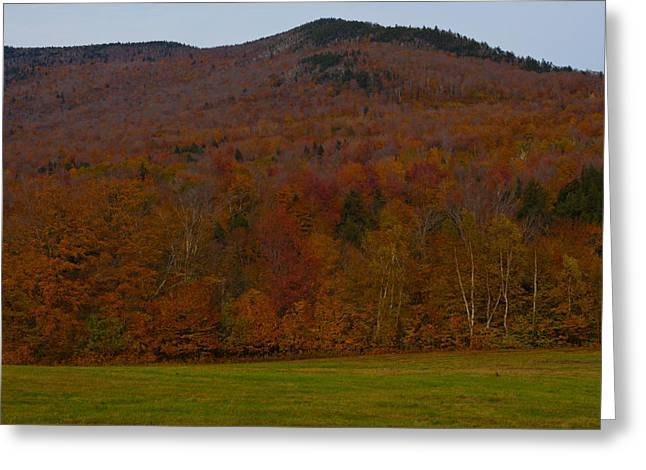 Vermont Photographs Greeting Cards - Fall in the valley Greeting Card by Robert  Torkomian