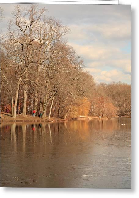 Summary Greeting Cards - Fall Landscape Greeting Card by Boris REYT