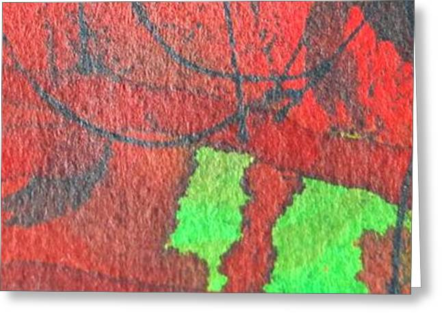 Abstract Expression Greeting Cards - Fall Moods Greeting Card by Ana Maria Edulescu