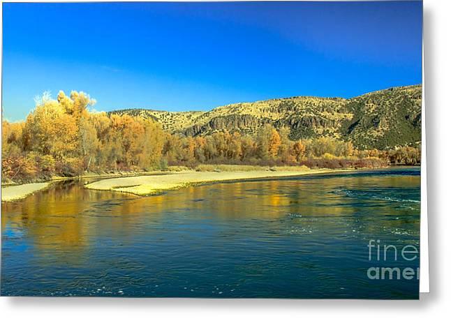 Idaho Photography Greeting Cards - Fall Reflections Greeting Card by Robert Bales