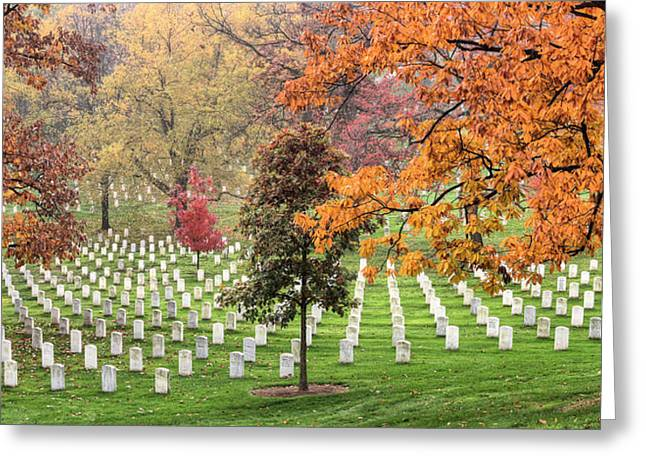 Arlington Greeting Cards - Fallen Heroes Greeting Card by JC Findley
