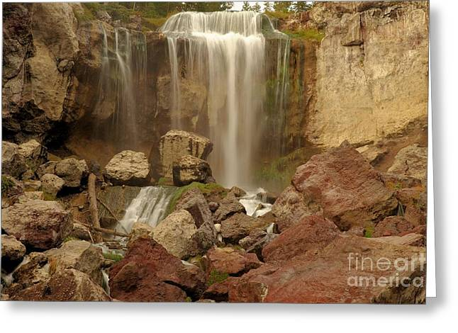 Newberry Greeting Cards - Falling Into The Canyon Greeting Card by Adam Jewell