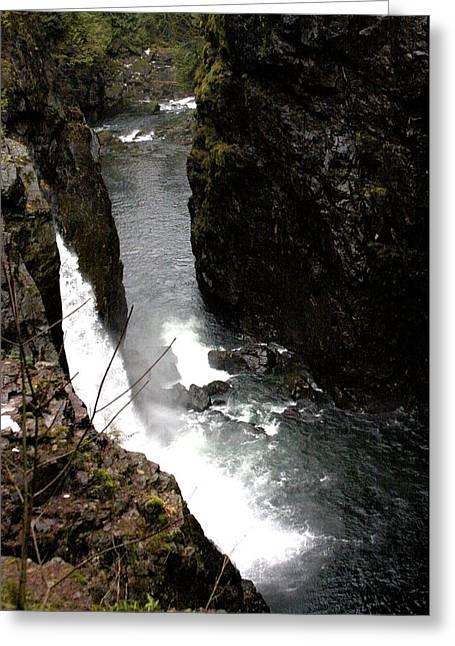 Bonnes Eyes Fine Art Photography Greeting Cards - Falling Waters Greeting Card by Bonnes Eyes Fine Art Photography