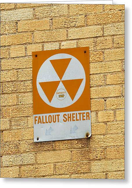 Nuclear Greeting Cards - Fallout Shelter Greeting Card by Nikki Marie Smith