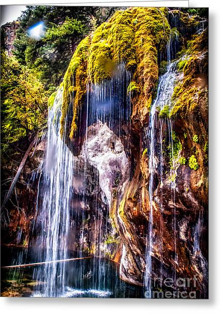 Prospects Greeting Cards - Falls Greeting Card by Noah Graham