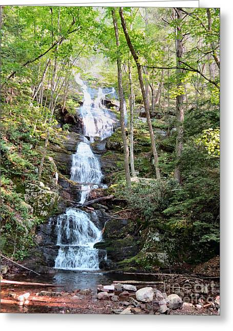 Best Sellers -  - Buttermilk Falls Greeting Cards - Falls Of No End Greeting Card by Michelle Milano